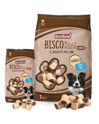 Best BoneBisco Dog Tronkies - smakołyki dla psa w z wieprzowiną i kurczakiem