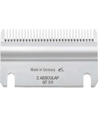 Dolne ostrze (GT511) do wszystkich maszynek dla koni Aesculap, 31 ząbków/1mm
