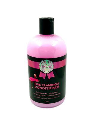Show Premium Pink Flamingo Conditioner 500ml - odżywka podkreślająca każdy kolor szaty o zapachu gumy balonowej, koncentrat 1:8