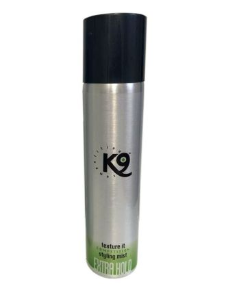 K9 Competition Texture It Styling Mist Extra Hold 300ml - mgiełka do szaty mocno usztywniająca