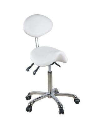 Ekskluzywne krzesło groomerskie Giovanni, białe