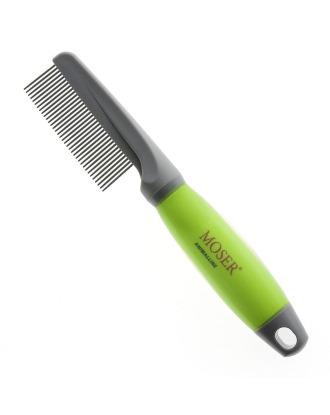 Moser Grooming Comb - grzebień z wygodnym, żelowym uchwytem