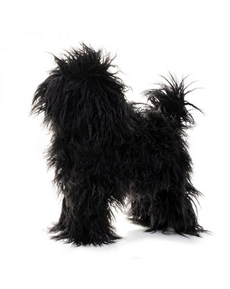 Show Tech Starzclub Black Poodle - sierść dla modelu psa Medel Dog Magnetic Poodle