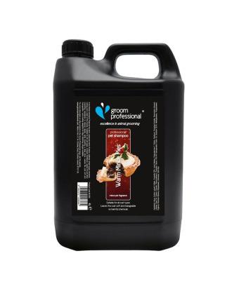 Groom Professional Warm Mince Pies Shampoo 4l - szampon o świątecznym zapachu rodzynek, cynamonu i nutki brandy , koncentrat 1:12