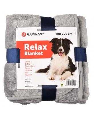 Flamingo Relax Blanket 100x70cm - niezwykle ciepły i miękki kocyk z mikrowłókna