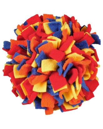 Flamingo Fleece Ball - zabawka dla psa, kula węchula
