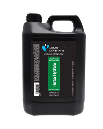 Groom Professional Herbal Hydrate Shampoo 4l - rewitalizujący szampon ziołowy, koncentrat 1:10