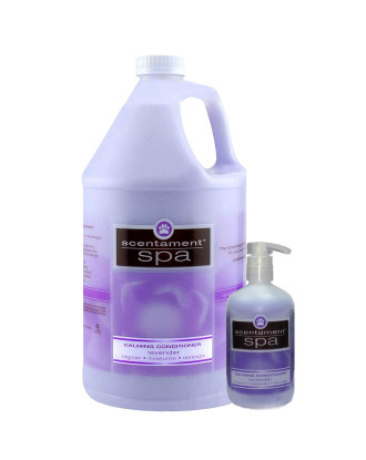 Best Shot Spa Lavender & Aloe Calming Conditioner - hipoalergiczna, kojąca odżywka do każdego typu sierści, z organicznym olejkiem lawendowym i aloesem, koncentrat 1:6