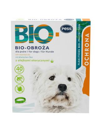 Pess Bio-Obroża 40cm - obroża przeciw insektom dla psów, z olejkami eterycznymi