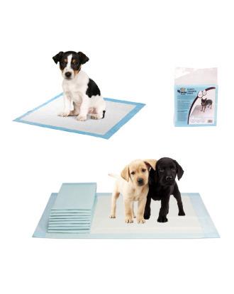 4 Pups Puppy Trainer Pads 60x60 -  podkłady absorbujące do nauki czystości dla szczeniąt, 10 sztuk