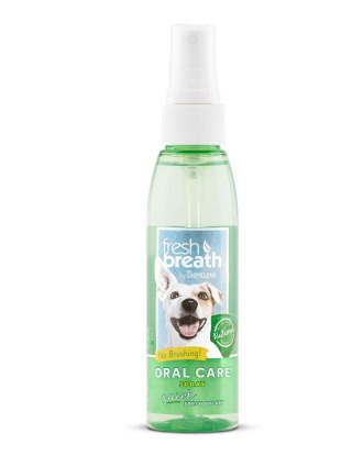 Tropiclean Fresh Breath Oral Care Spray 118ml - preparat dla psów odświeżający oddech