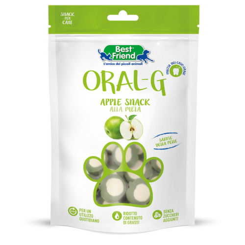 Best Friend Oral-G Apple snack 75g
