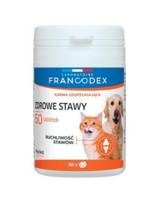 Francodex Zdrowe Stawy 60tbl - preparat wspomagający prawidłowe funkcjonowanie stawów i produkcję tkanki chrzęstnej