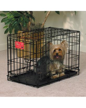 MidWest Life Stages 1622DD - klatka dla psa o wymiarach 56x33x41cm, rozmiar XS