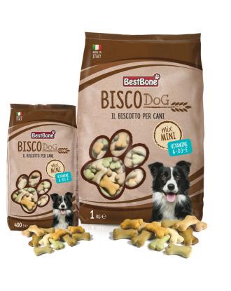 Best Bone Bisco Dog Mini Mix - pyszne smakołyki dla psów, w czterech smakach