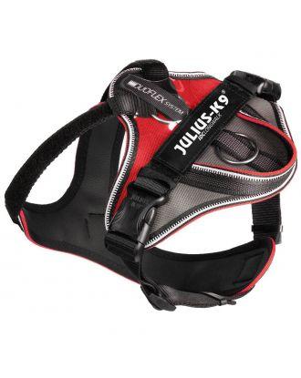 Julius K9 ICD Longwalk Harness Red - szelki trekkingowe dla psa, czerwone