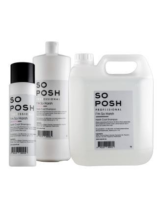 So Posh I'm So Harsh  - oczyszczający szampon dla ras szortkowłosych, koncentrat 1:10