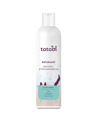 Totobi naturalny szampon przeciwświądowy dla psa i kota 300ml