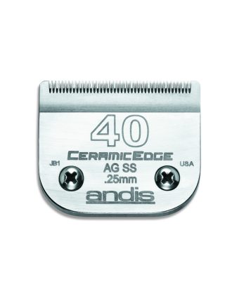 Andis CeramicEdge nr 40SS - ostrze chirurgiczne 0,25mm