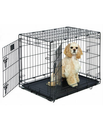 MidWest LifeStages 1630 DD rozmiar M - klatka kennelowa dla psa, 78x49x55cm