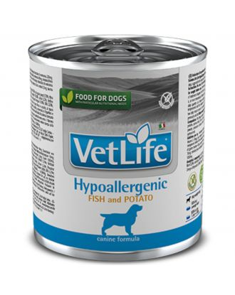Farmina Vet Life Hypoallergenic Fish & Potato 300g - mokra karma weterynaryjna, hypoalergiczna, z rybami i ziemniakami