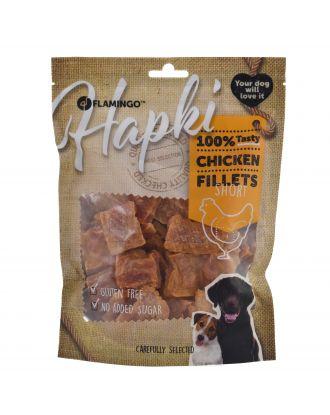 Flamingo Hapki Chicken Short Fillets  400g - przysmaki dla psa, małe filety z kurczaka
