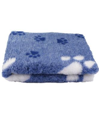 Blovi DryBed VetBed A+ - antypoślizgowe posłanie, legowisko dla zwierząt, niebiesko-białe