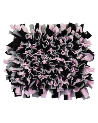 Blovi Snuffle Mat Black/Pink - mata węchowa dla psa, prostokątna