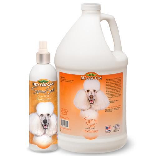 Bio-Groom Spray Set - preparat w sprayu do utrwalania kształtu fryzur