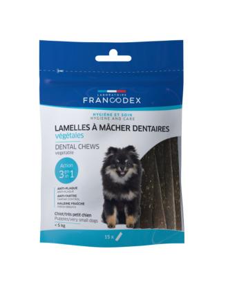 Francodex Dental Chews 15szt. - gryzaki dentystyczne dla bardzo małych psów