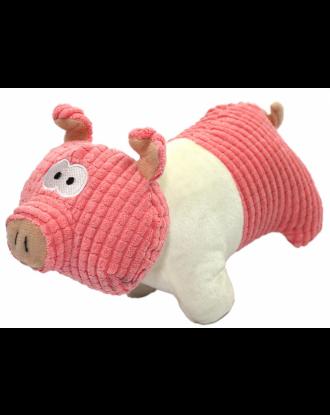 Pet Nova Plush Small Pig 22cm - pluszowa świnka z piszczałką, mała