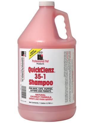PPP QuickClenz Shampoo - ekonomiczny, uniwersalny szampon do szybkiej kąpieli, koncentrat 1:35