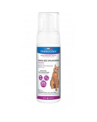 Francodex Dimetykon 150 ml - przeciwpasożytnicza pianka  dla kociąt i kotów