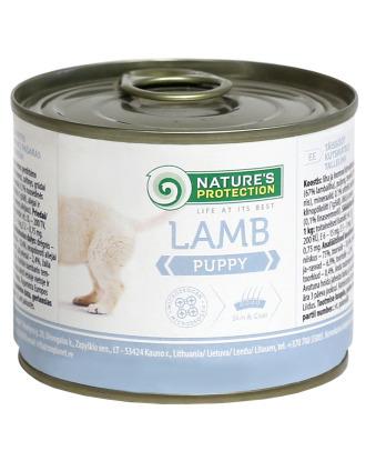 Nature's Protection Puppy Lamb - mokra karma dla szczeniąt, z jagnięciną
