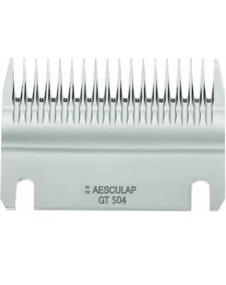 Dolne ostrze (GT504) do wszystkich maszynek dla koni Aesculap, 18 ząbków/3mm
