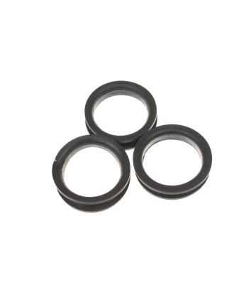 Show-Tech ringi do nożyczek czarne, średnica 24mm (L)