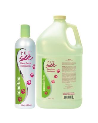 Pet Silk Clean Scent Conditioner - odświeżająca odżywka do każdego typu szaty, koncentrat 1:16