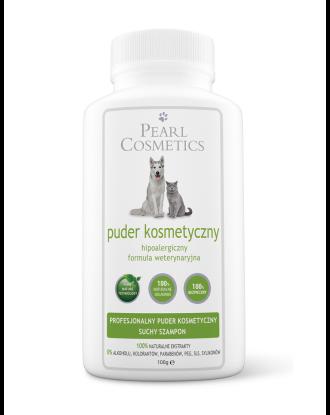 Pearl Cosmetics Powder 100g - puder kosmetyczny i suchy szampon , zapach cedrowo-lawendowy