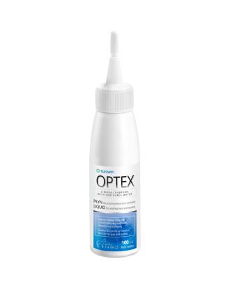 Eurowet Optex 100ml - łagodząco-nawilżający płyn z wodą chabrową do przemywania oczu i powiek