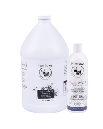 Pure Paws SLS Free Bright White Shampoo  - szampon do białej i jasnej sierści, koncentrat 1:8