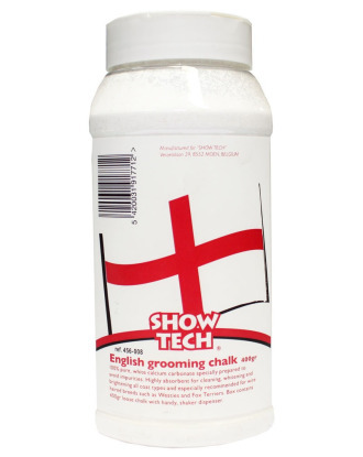 Show Tech English Grooming Chalk - Kreda w proszku do trymowania 400g