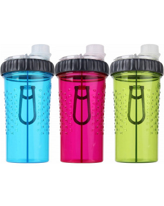 Dexas Snack-Duo Pet Bottle - Two Chamber Dog Water & Snack Container
