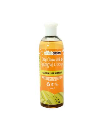 Natures Groom Deep Clean with Grapefruit & Orange - szampon głęboko oczyszczający i deodoryzujący, koncentrat 1:25