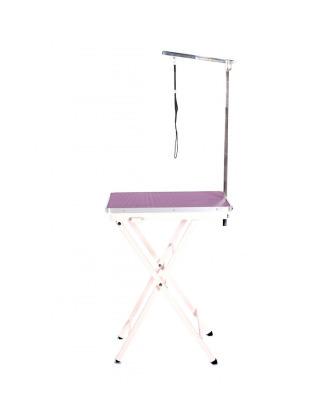 Lekki i poręczny stół wystawowy Blovi, blat 60x45cm