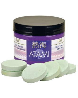 Iv San Bernard Atami Relax Tablets 8szt - relaksująco tonizujące tabletki do kąpieli, z minerałami