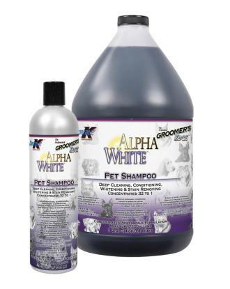 Double K Alpha White Shampoo - szampon wybielający