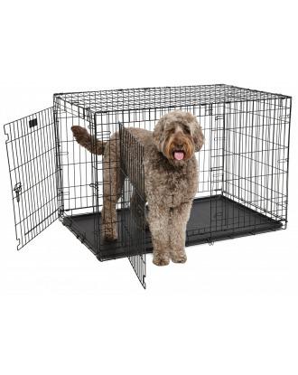 MidWest ConTour  848 DD rozmiar XXL - dwudrzwiowa klatka kennelowa dla psa, 123x78x81cm