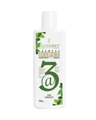 FluidoPet EcoPet @3 Volumizing Shampoo - wysokiej jakości ekologiczny i bardzo wydajny szampon zwiększający objętość włosa, koncentrat 1:5