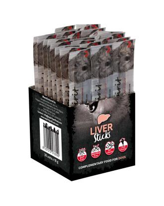 Alpha Spirit Liver Stick 10g - bezglutenowa, hipoalergiczna pałeczka z wątróbką