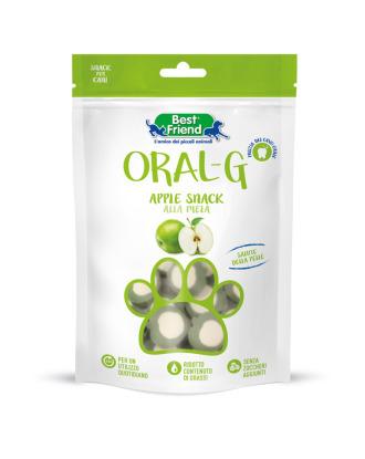 Best Friend Oral-G Apple snack 75g - przysmaki dla psów wspierające zdrowie zębów i skóry, z biotyną i cynkiem